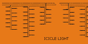 Drita LED icicle KARNAR INTERNATIONAL GROUP LTD