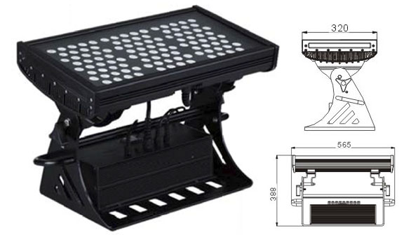 Guangdong taʻitaʻia le fale gaosi oloa,Lulu puipui o le puipui puipui o le LED,500W Square IP65 DMX LED puipui 1, LWW-10-108P, KARNAR INTERNATIONAL GROUP LTD