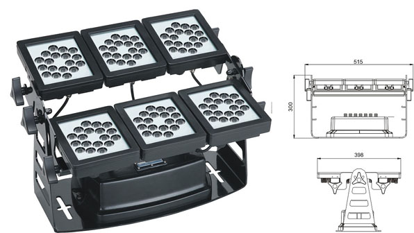 Led drita dmx,LED dritë përmbytjeje,Rondele mur 220W Square LED 1, LWW-9-108P, KARNAR INTERNATIONAL GROUP LTD