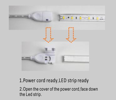 قوانغدونغ بقيادة المصنع,ادى الشريط,110V AC No Wire SMD 5730 LED ROPE LIGHT 5, install_1, KARNAR INTERNATIONAL GROUP LTD