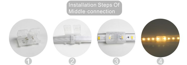 قوانغدونغ بقيادة المصنع,ادى الشريط,110V AC No Wire SMD 5730 LED ROPE LIGHT 10, install_6, KARNAR INTERNATIONAL GROUP LTD