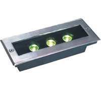 Led drita dmx,LED varrosur dritën,1W Sheshi Buried Light 6, 3x1w-120.85.55, KARNAR INTERNATIONAL GROUP LTD